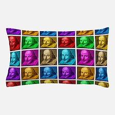 Pop Art Shakespeare Pillow Case