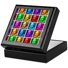 Pop Art Shakespeare Keepsake Box
