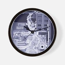 Computer, simulated X-ray Wall Clock