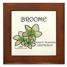 Unique Broom Framed Tile