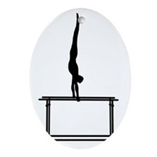Gymnastic--Parallel-Bars-02-AA Oval Ornament