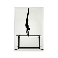 Gymnastic--Parallel-Bars-02-AA Rectangle Magnet