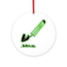 Kitesurfing-AC Round Ornament