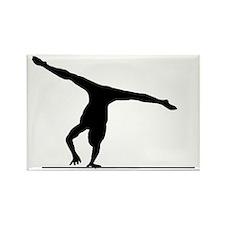 Gymnastic---Floor-Exercise-02-AA Rectangle Magnet