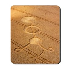 Crop formation, Cheesefoot, Hampshire Mousepad