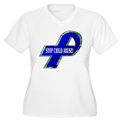 Child Abuse Awareness Ribbon T-Shirt