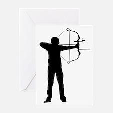 Archery-AA Greeting Card