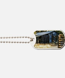 corugated tin barn Dog Tags