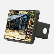 corugated tin barn Hitch Cover