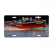 D1259-061boatart Aluminum License Plate