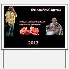 2013 TKE Calendar 1 Yard Sign