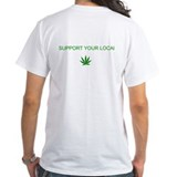 Hemp Mens White T-shirts
