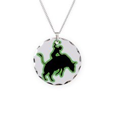 Bull-Riding-AC Necklace