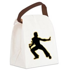 Kung-Fu---Nunchaku-AD Canvas Lunch Bag