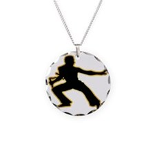 Kung-Fu---Nunchaku-AD Necklace