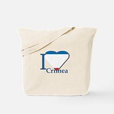 I love Crimea Tote Bag