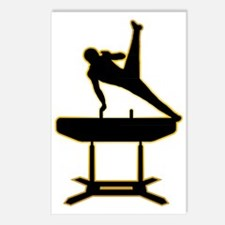 Gymnastic---Pommel-Horse- Postcards (Package of 8)