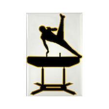Gymnastic---Pommel-Horse-AD Rectangle Magnet
