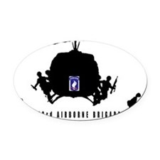 173rd AIRBORNE Oval Car Magnet