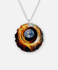 Earth's magnetic field prote Necklace