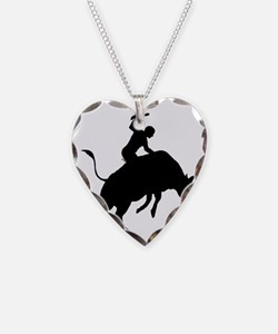 Bull-Riding-AA Necklace