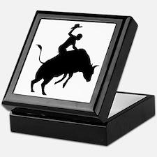 Bull-Riding-AA Keepsake Box