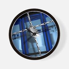 Data security Wall Clock