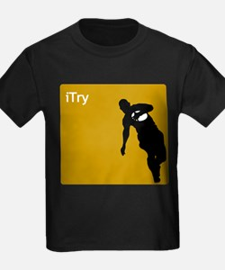 iTry_silh_brown T-Shirt