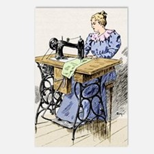 Electrical sewing machine Postcards (Package of 8)