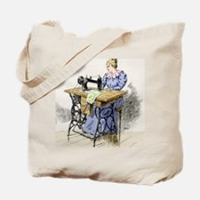 Electrical sewing machine, 1900 Tote Bag
