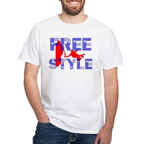 Jet Ski Freestyle White T-Shirt