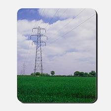Electricity pylons Mousepad