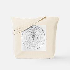 Diagram of Copernican cosmology Tote Bag