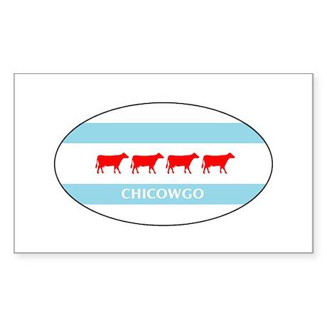 Chicowgo - Chicago Sticker (Rectangle)