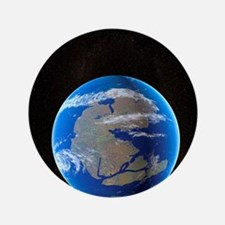 "Earth at time of Pangea 3.5"" Button"