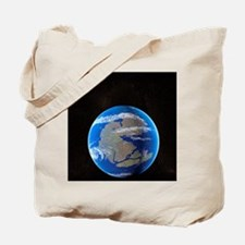 Earth at time of Pangea Tote Bag