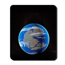 Earth at time of Pangea Mousepad