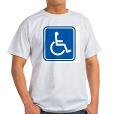 Disability sign, computer artwork T-Shirt