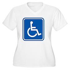 Disability sign,  T-Shirt