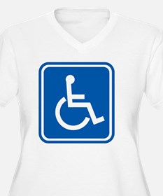 Disability sign,  T-Shirt