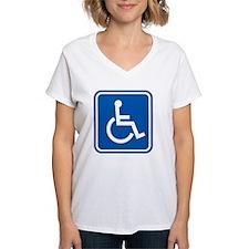Disability sign, computer a Shirt