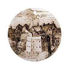 globetheatre3-60 Round Ornament