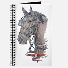 Percheron Draft horse harness Journal