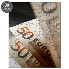 Euro bank notes Puzzle
