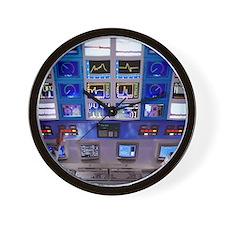 Factory control room Wall Clock