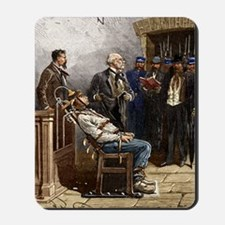 Electric chair, 1890 Mousepad