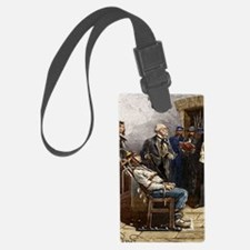 Electric chair, 1890 Luggage Tag