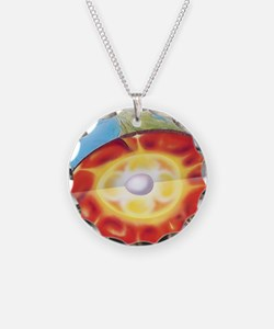 Earth's structure Necklace