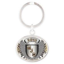 2012 Miami Jewelry School Alumni Oval Keychain
