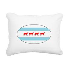 Chicowgo - Chicago Rectangular Canvas Pillow